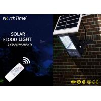 China High Power Portable Aluminium Solar Powered LED Flood Lights 100 Watt With Remote Controller on sale