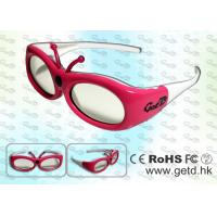 Wholesale Small Size 3D Digital Cinema Shutter Glasses with Micro USB rechargeable Battery from china suppliers