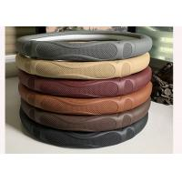 Wholesale Soft Material Massage Car Steering Wheel Cover / Real Leather Steering Wheel Wrap from china suppliers
