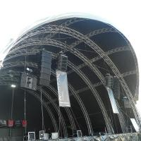 Buy cheap 300x300mm Bolt / Strong Capacity Aluminum Stage Box Truss And Display Truss from wholesalers