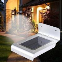 Wholesale 16 LED outdoor light waterproof solar powered led wall light with sensor from china suppliers