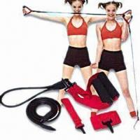 Wholesale Maxcare Sports Expander with EVA Handles and 118cm Long Elastic Band from china suppliers