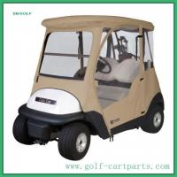 Wholesale 3 Sided Golf Cart Weather Enclosures Club Car Golf Cart Cover 2 Person from china suppliers