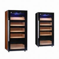 Wholesale Electronic Cigar Cabinet Humidor with Humidifier and Temperature Adjustable System from china suppliers