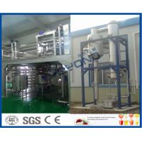 Wholesale Liquid Beverage Juice Manufacturing Equipment , CIP Cleaning Juice Manufacturing Machines from china suppliers