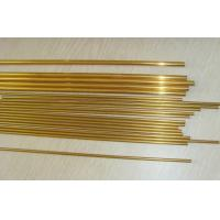 Quality C44300 Heat exchanger seamless brass tube / copper pipe for oil cooler , for sale