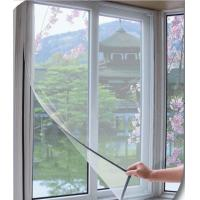 Mosquito off simple household diy magnetic insect screen for Window off screen