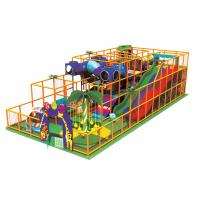 Wholesale Kids Indoor Playground Equipments with 150mm Joint Venture Plywood A-08802 from china suppliers