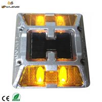 Buy cheap Super strong high bright aluminum cat eye pavement marker solar LED reflective from wholesalers