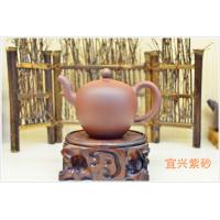 Wholesale Purple Clay Yixing Zisha Teapot Home Use Eco - Friendly 180ml SGS Certification from china suppliers