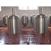 Wholesale Large Beer Brewing Equipment Stainless Steel Keg Barrel 5 Bbl Brewing System from china suppliers
