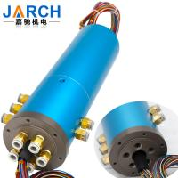 Buy cheap Integrated Conductive Slip Ring 1-24 Passages Neumatic Electrical Rotary Union from wholesalers