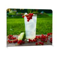 Wholesale Straight Curved Trade Show Backdrop Displays U Shape Pop Up Stand Easy Operation from china suppliers