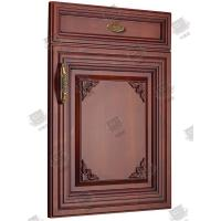 China Veneer Solid Molded Interior Doors , Soundproof Molded Panel Doors on sale