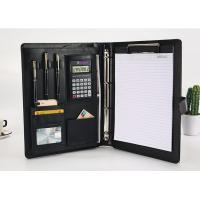 Wholesale Executive Personalized Leather Padfolio Dimension 32 X 25 X 2.5 Cm With Calculator from china suppliers