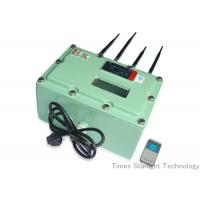 Wholesale 10 watts Anti Explosion Bomb Jammer , RF Radio Mobile Signal Jammer 433MHz from china suppliers