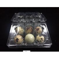 Wholesale hot sells egg trays clear quail egg trays with 6 holes 2*3 holes PVC / PET / APET... quail egg container from china suppliers