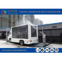 Buy cheap High Resolution Outdoor P10 Truck Mounted Led Display Mobile Advertising Led Screen from wholesalers