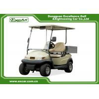 Wholesale Ce 2 Seater Electric Golf Car Italy Graziano Axle 48v Trojan Battery from china suppliers