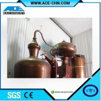 Wholesale Copper Alcohol Distillation Equipment System For Sale & Copper Whiskey Still Equipment For Sale from china suppliers
