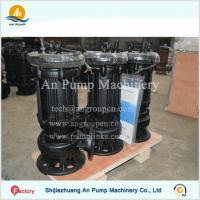 China Electrical River Submersible Sewage Pump on sale