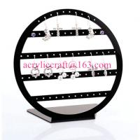 Wholesale POP acrylic jewelry display stand plexiglass earring display rack from china suppliers