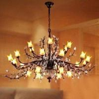 Wholesale Crystal Lighting Chandelier with Hand-painted Glass from china suppliers