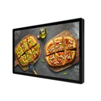 China 55 Inch Wall Mounted Super Thin LCD Advertising Screen for Restaurant on sale