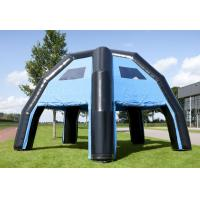 China Blue Large Comercial Grade Dome Inflatable Tent Water Proof PVC For Advertising on sale