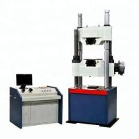 WAW-1000C Hydraulic UTM Universal Testing Machine With Worm Gear System For Bolt Tensile Strength Test