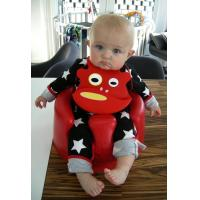 Wholesale Gertrude Hippo Baby Bib with built in crumb catcher and adjustable clasp from china suppliers