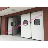 Wholesale Aluminum Seal Accordion Doors Multi Panels Hinged Industrial Garage Doors Folding For Warehouse from china suppliers
