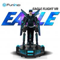 Wholesale One Player 9D Virtual Reality Simulator Eagle Flight VR Theater Movie System from china suppliers