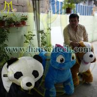Wholesale Hansel China Plush Motorized Animals Stuffed Zippy Rides Electric Animal Scooters for sale from china suppliers