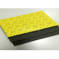 Composite PU Artificial Grass Underlay Shock Pad HIC For Children Safety