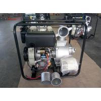 Wholesale Portable 4 Inch Diesel Driven Water Pump With Electric Start And Hand Start System from china suppliers
