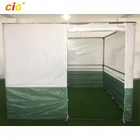 Wholesale White Green 3x3 Sukkah Outdoor Tent Outdoor Furnitures With Powder Coating Steel from china suppliers