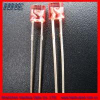 Wholesale HHE 3mm Red Cylindrical With Flange LED (HH-3TOCAR741) from china suppliers