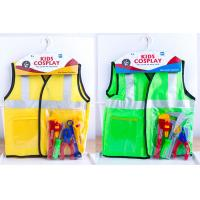 Wholesale Role Play Children's Play Toys Costume for Pretend Doctor Fireman 4 Styles from china suppliers