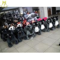 China Hansel stuffed animals with battery coin operated animal ride min happy car on sale