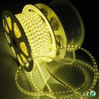 Wholesale Dimmable High Voltage LED Strip Light Warm White 60 Leds Per Meter Waterproof 5050 from china suppliers