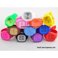 Wholesale Band new Cheap Stylish Jelly Silicone Watch with wholesale price from china suppliers