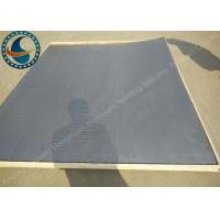 Wholesale Non Clogging Wedge Wire Screen Panels For Waste Water Long Service Life from china suppliers