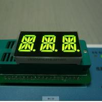 Buy cheap Super Amber 3 Digit 14 Segment LED Display Full Color 0.56 Inch For Digital from wholesalers