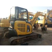 Wholesale Original Japan Good Condition Used KOMATSU PC55MR-2 Small Excavator For Sale from china suppliers