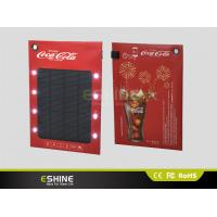 Wholesale High Power Portable Solar Ad charger for Mobile, Solar Power Bank for Mobile Phone from china suppliers