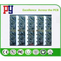Wholesale Lead Free Multilayer PCB Circuit Board Custom Blue Solder Mask Fr4 Base Material from china suppliers