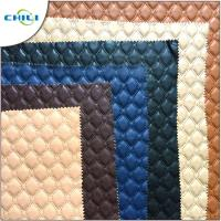 Wholesale Eco Friendly Faux Leather Upholstery Fabric Raw Material Knitted Professional from china suppliers