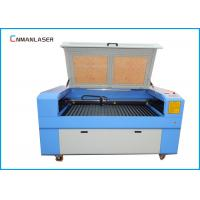 Wholesale 1610 100W Double Head MDF PlywoodFabric LaserCuttingMachineWith Auto Focus System from china suppliers