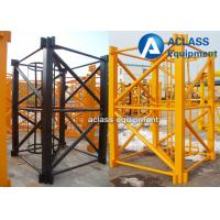 QTZ63 Building Construction Hoist Galvanized Mast Section 1.68*2.5m Manufactures